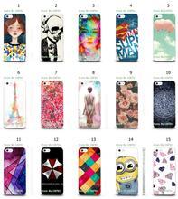 Mobile Phone Case Hot 1pc Superman Logo Art Flowers Hybrid Design Protective White Hard Case For