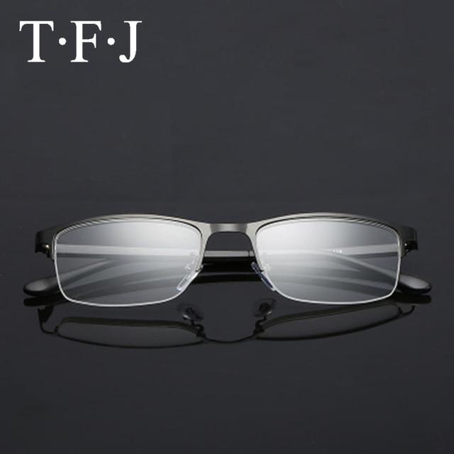 Titanium Reading Glasses Nose Unisex Blue Light Blocking Glasses Metal Half Frame Lunette Lecture Old Men Women Unbreakable