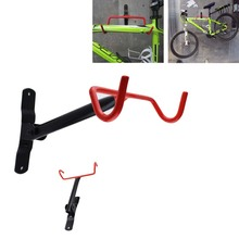 купить Bike Wall Mount Rack Storage Hanger - Garage Bicycle Holder Folding Space Saver по цене 1324.58 рублей