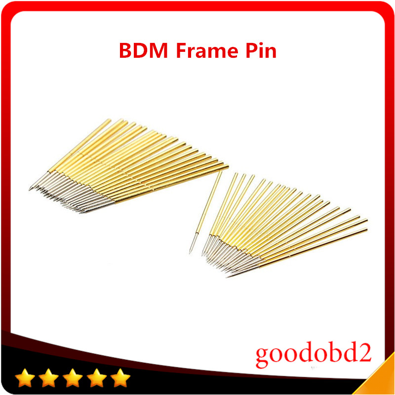 40pcs Pin Use For BDM Pin And BDM Frame Pin Testing Jig And Fgtech Galletto 2 Master Support BDM100 Programmer