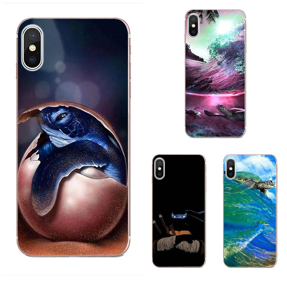 Cute Turtle Tortoise Soft TPU Phone For Galaxy J1 J2 J3 J330 J4 J5 J6 J7 J730 J8 2015 <font><b>2016</b></font> 2017 2018 mini Pro image