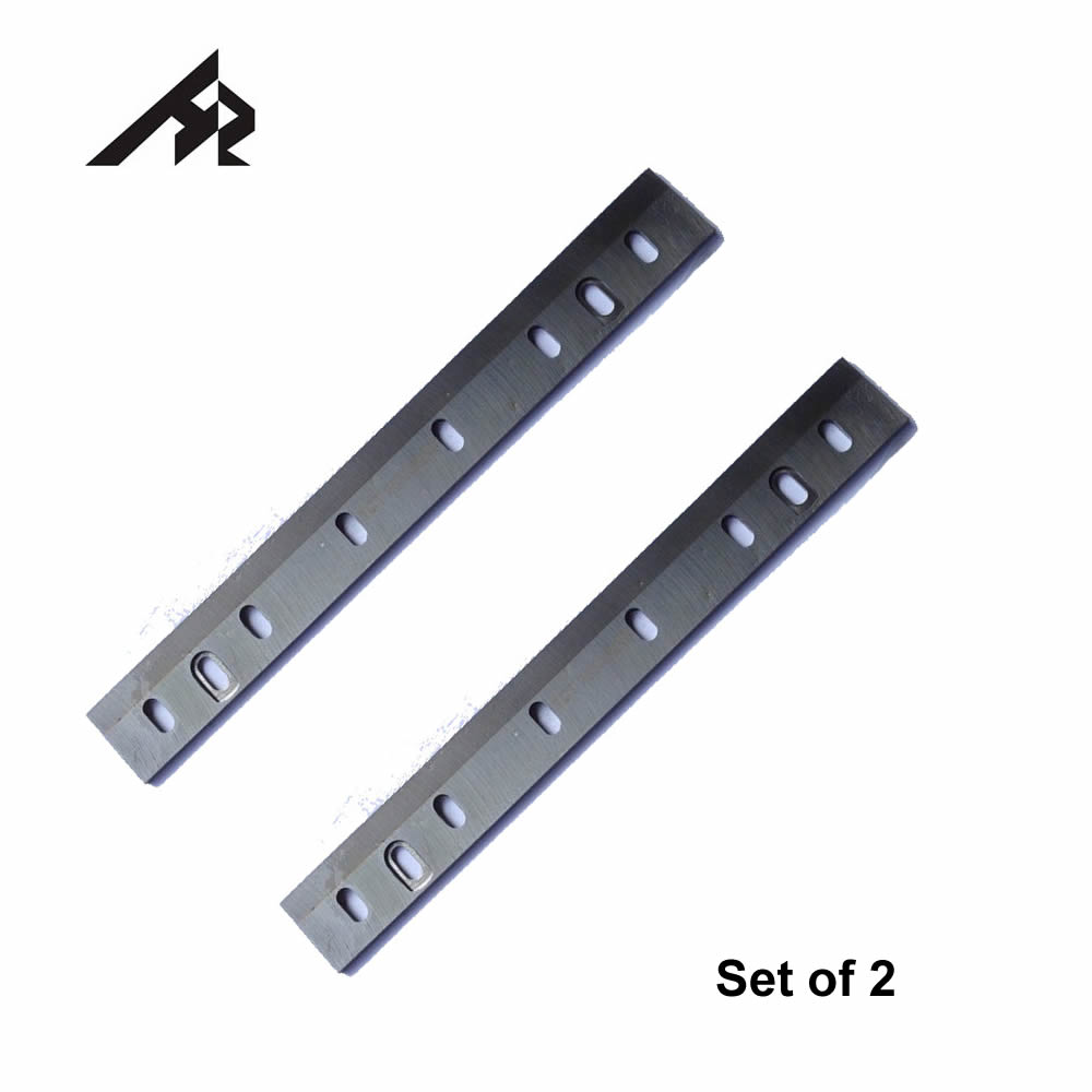 HZ 10-Inch 263 X 32 X 3mm HSS Planer Knife Blades For Ryobi AP10 AP10N Wood Thickness Planer- Set Of 2