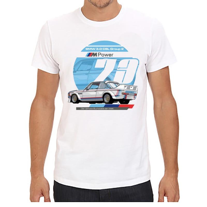 Мужские футболки с коротким рукавом и круглым вырезом, принт с красной машиной, плюс размер, топы, футболки, брендовые, хорошее качество, удобные футболки, топы - Цвет: 2