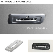 Car styling interior cover back rear tail read reading switch light lamp frame trim For Toyota New Camry XV70 2017 2018 2019