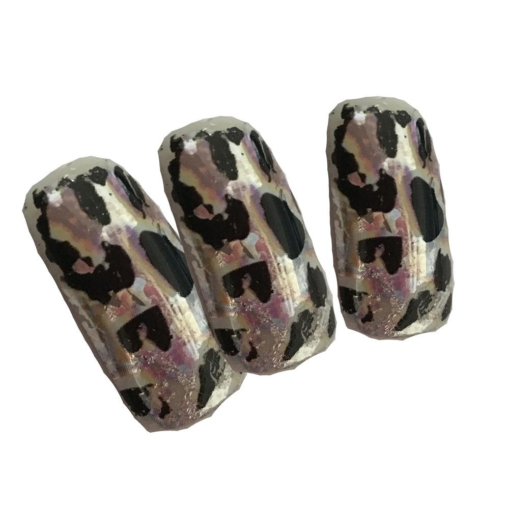 The black spot, 20 cm * 4 cm, 3 d, black nails, nail art aluminum ...