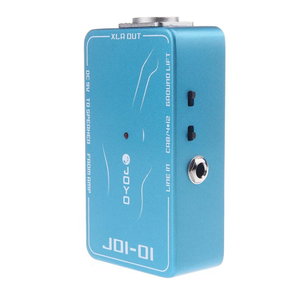 DI guitare acoustique pièces effet pédale guitare électrique passif Direct boîte Amp Simulation accessoires guitare