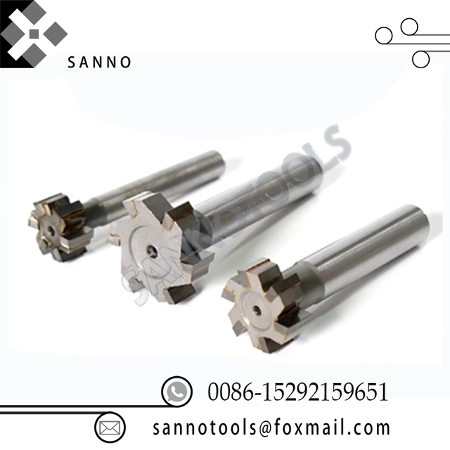 3pcs High Quality T mill with brazing edge, welded - flute end mill  12x8x10  T Slot Milling Cutter CNC Lathe Carbide End Mill