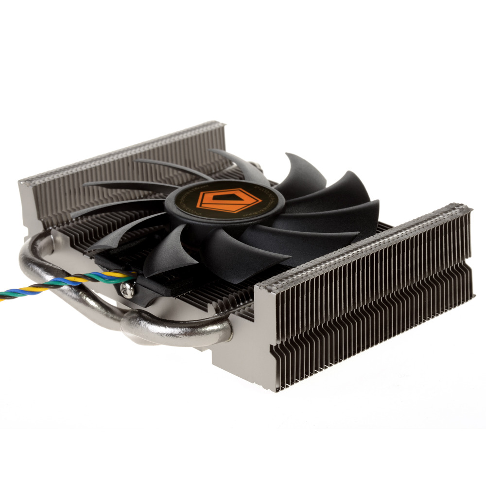 ID-COOLING Is-25i For ITX And HTPC Systems Low-Profile TDP 75W CPU Cooler Ultra Slim, Only 27mm High, For Intel