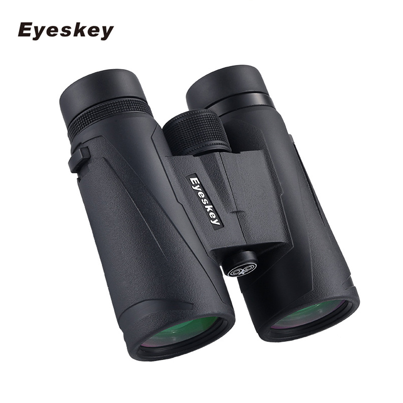 8/10x32 8/10x42 Portable Binoculars Telescope Hunting Telescope Tourism Optical 10x42 Outdoor Sports Waterproof Black eyeskey 10x42 portable binoculars camping hunting telescope waterproof night vision tourism optical outdoor sports