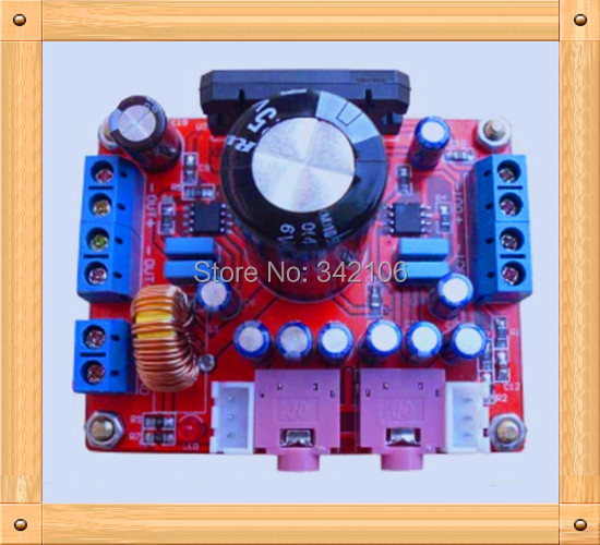 Special Offers Free Shipping!!! 5pcs TDA7850 power amplifier board / 4-channel car audio DJ 300W subwoofer