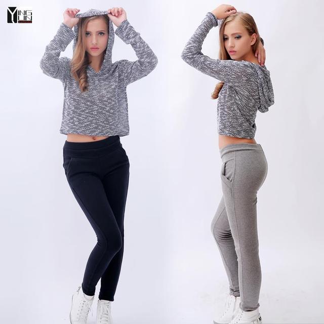 2015 новая мода женские повседневные брюки Свободные Брюки Случайные Штаны женские Спортивные Штаны Брюки Брюки Бегунов Капри Свободный размер H-014