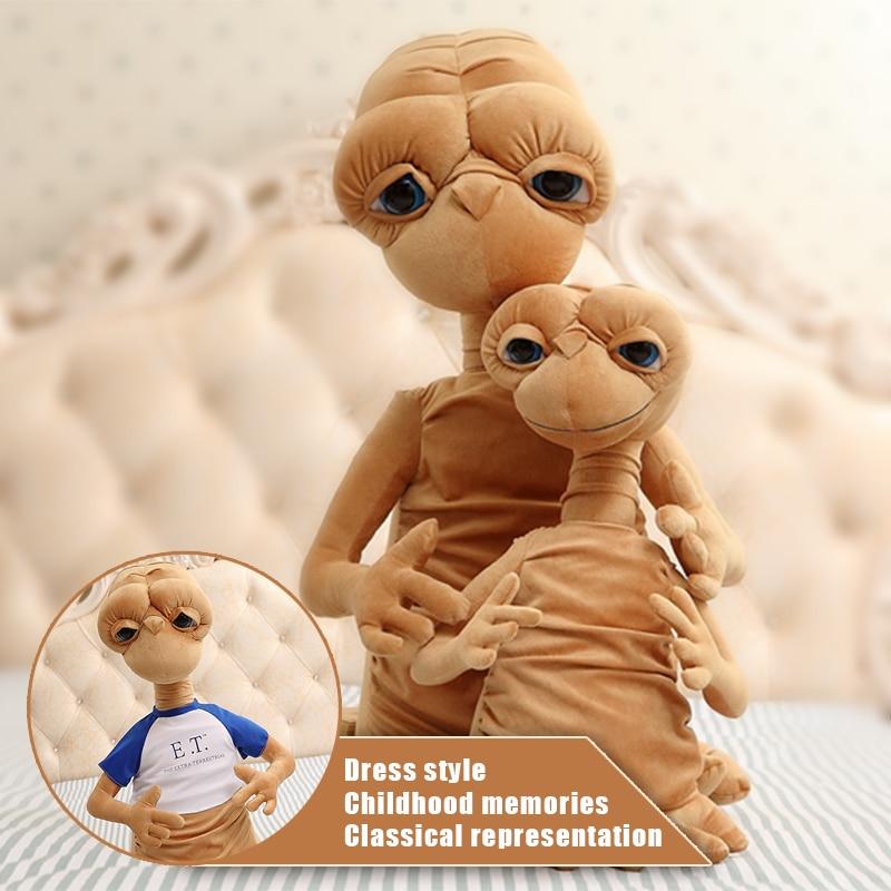 50 cm E.T Alien Den klassiska filmen som omger plyschleksaker. - Plysch djur