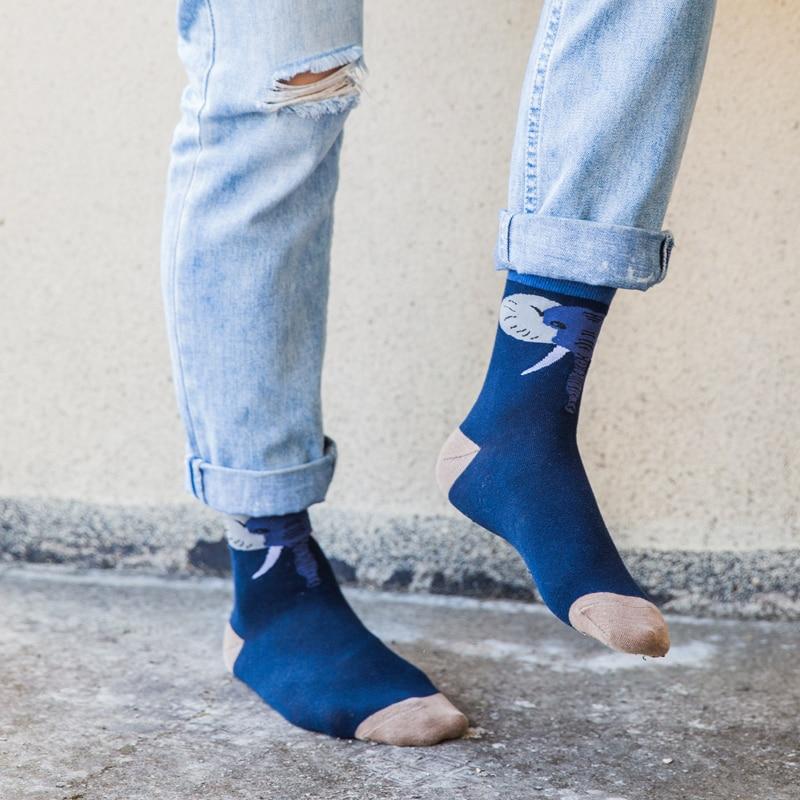 Man   Socks   cartoon elephant cotton   socks   man   socks   Winter Thick Warm M EUR39-44