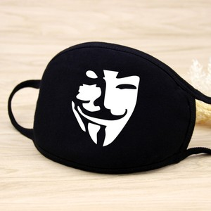 綿防塵マスクの漫画表現歯マッフル Chanyeol フルフェイスレスピレーター抗 Kpop クマ口マスク
