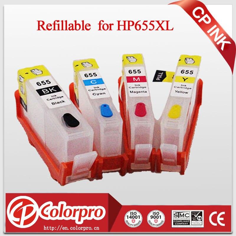 Nachfüllbare Tintenpatrone für HP655 HP655XL HP 655 für HP - Büroelektronik - Foto 1
