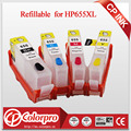 Refillable ink cartridge for HP655 HP655XL HP 655 for HP Deskjet ink Advantage 3525 4615 4625 5525 6520 6525 6625 with ARC chip