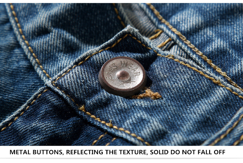 famous brand factory leather zipper jeans men deep blue slim straight pants masculina vaqueros trouse mid regular solid pencil 4