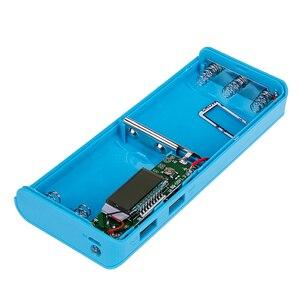 Image 5 - Rovtop 뜨거운 판매 5V 듀얼 USB 5x18650 전원 은행 배터리 상자 휴대 전화 충전기 DIY 쉘 케이스 iphone6 플러스 S6 xiaomi
