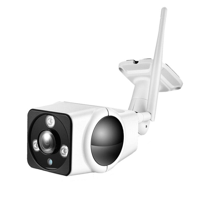 Wireless IP Camera Wifi 1080P Network P2P Onvif CCTV Outdoor Security Camera Waterproof Audio Night Vision with Power Supply wistino cctv 720p 960p wifi ip camera street outdoor waterproof bullet wireless network onvif surverillance security camera