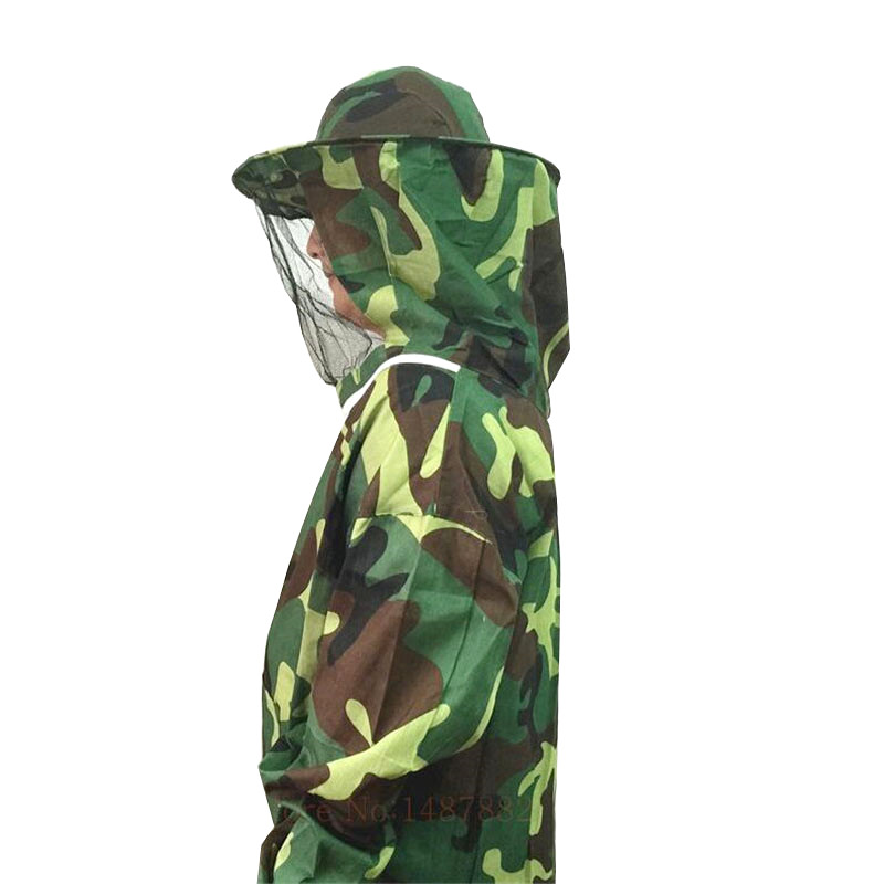 1 pcs Beekeeping Upper Body Camouflage Beekeeper Protective Clothing People Wear Less Than 180cm Tall Within 75kg Of Body Weight