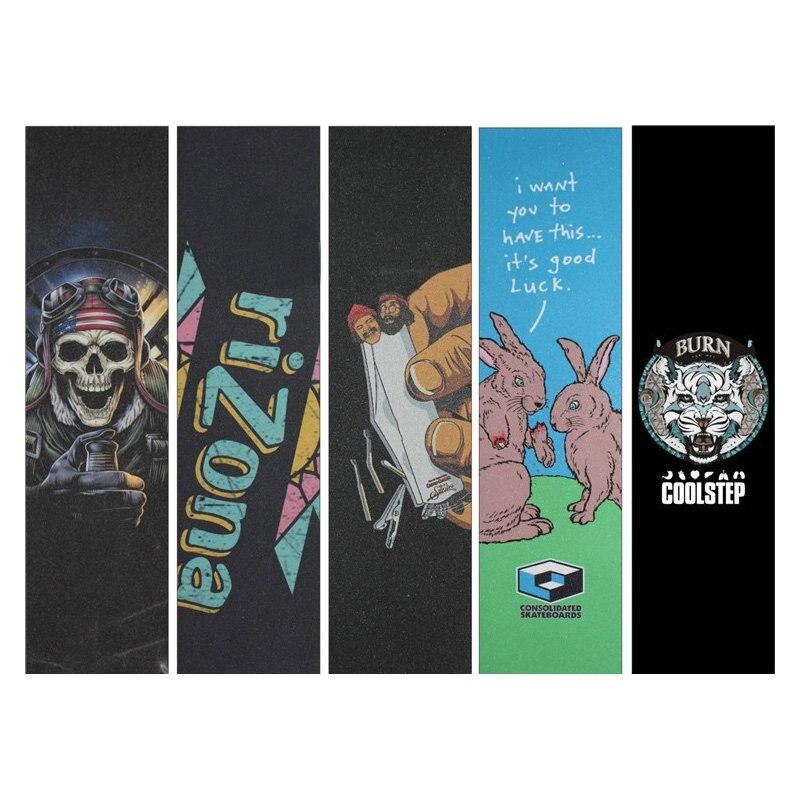 Neues Skateboard-Sandpapier-Sandpaste-Papier für Skateboard-Griffe Beschützer-Fisch-Brett-Sandpapier wasserdichtes Anti-Reißen