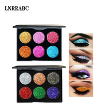 Professional Diamond Golden Color Glitter Shiny Waterproof Lasting Long Easy To Wear Eye Shadow Makeup Products