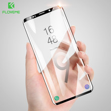 FLOVEME Soft Screen Protector For Samsung Galaxy S9 S8 Film 3D Curved Full Screen Cover For Samsung S8 Plus Not Tempered Glass(China)