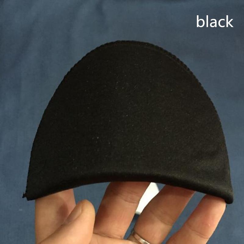 Мягкие Наплечные подушечки из губки для футболок Одежда Аксессуары для шитья - Цвет: black