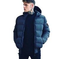 Men Clothing 2018 New Men's Winter Coats Cotton Padded Outdoor Casual Running Training Hooded Jacket Men's Short Jacket