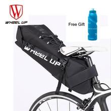 WHEEL UP 2018 Bike Bag 10L Bicycle Saddle Tail Seat Waterproof Storage Bags Cycling Rear Pack