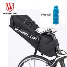 WHEEL UP 2018 Bike Bag 10L Bicycle Saddle Tail Seat Waterproof Storage Bags Cycling Rear Pack Panniers Accessories