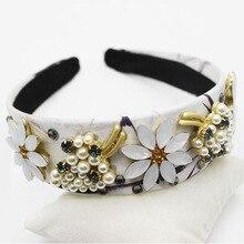 2017 Bijoux cheveux gold crystal vintage tiaras para casamento barroco hair jewelry women fashion pink baroque headband jewelry