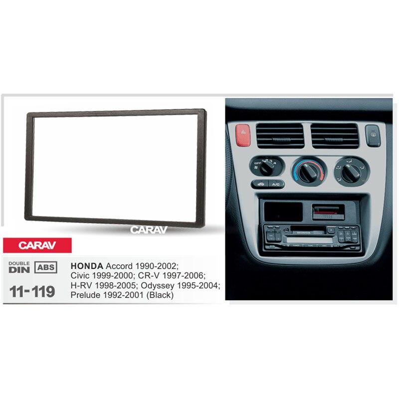 Carav 11 119 Car 2din Fascia Facia Panel Plate Frame For