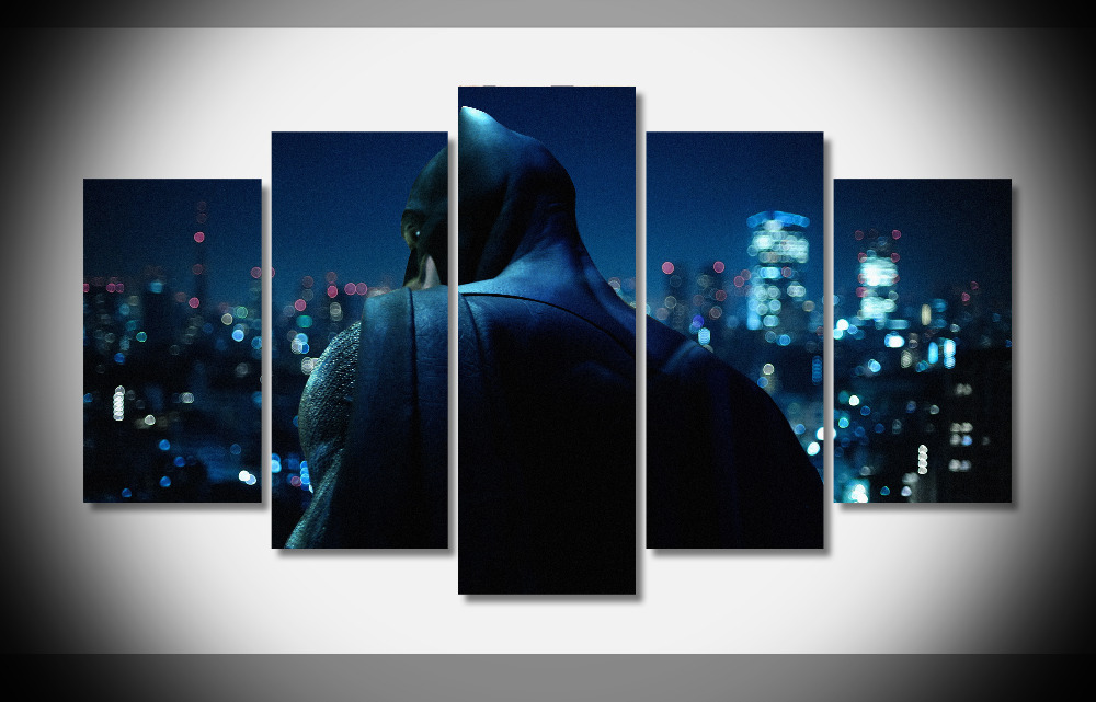 6503 Batman Movie Poster Framed Gallery wrap art print home wall decor wall picture digital print wholesale modern