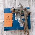W-101g pistola/gravedad/tipo de alimentación w-101 pistola de pintura/1.0/1.3/1.5/1.8mm japón hizo anest iwata con 400 ml taza de pintura