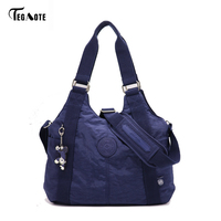 TEGAOTE Women Shoulder Bags Handbag Female Causal Totes Shopping Nylon Bag Crossbody Messenger Bags Women Bag Bolsos sac a main