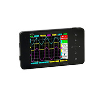 MiniDSO DSO202 Digital Multimeter Oscilloscope Touch Screen USB Portable DS202 1MHz Pocket 8MB LCD Automotive Osciloscopio