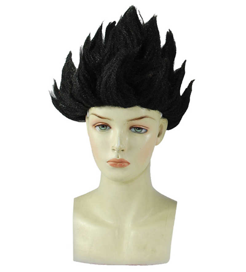 ... Anime Dragon Ball Goku Cosplay Wigs 8 colors Super Saiyan Gold Blue Red  Black Peluca Wigs ... 7a66fb2e8f