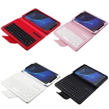 2017 New 4 Color Bluetooth Keyboard Folio Case Cover for Samsung Galaxy Tab A 10.1 T580 Series