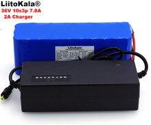 LiitoKala 36 V 7.8Ah 10S3P 18650 аккумуляторная батарея, модифицированные велосипеды, электрический автомобиль 36 V Защита PCB + 2A зарядное устройство