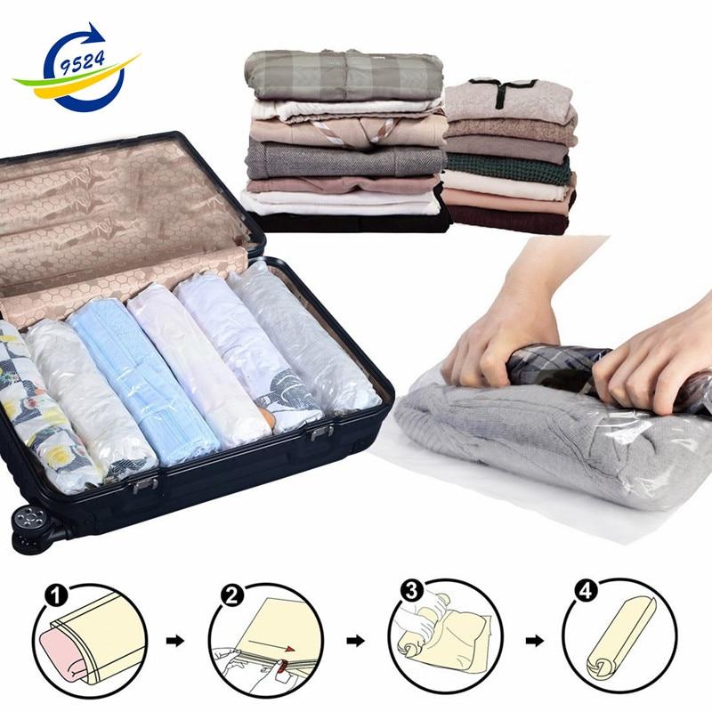 Travel Storage Bags No Vacuum