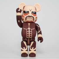 11inches Bearbrick Gloomy BE@RBRICK400% Attack on Titan PVC Action Figure Collectible Model Toy Best Gift For Kids BOX D162