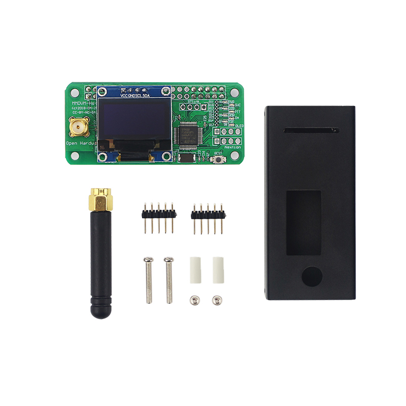 Raspberry Pi Zero MMDVM Digital Hotspot Expansion Board support RTQ P25 DMR D STAR C4FM YSF