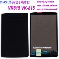 STARDE LCD do LG G Pad X 8.3 VK815 wyświetlacz LCD LD083WU1 montaż digitizera ekranu dotykowego rama 8.3