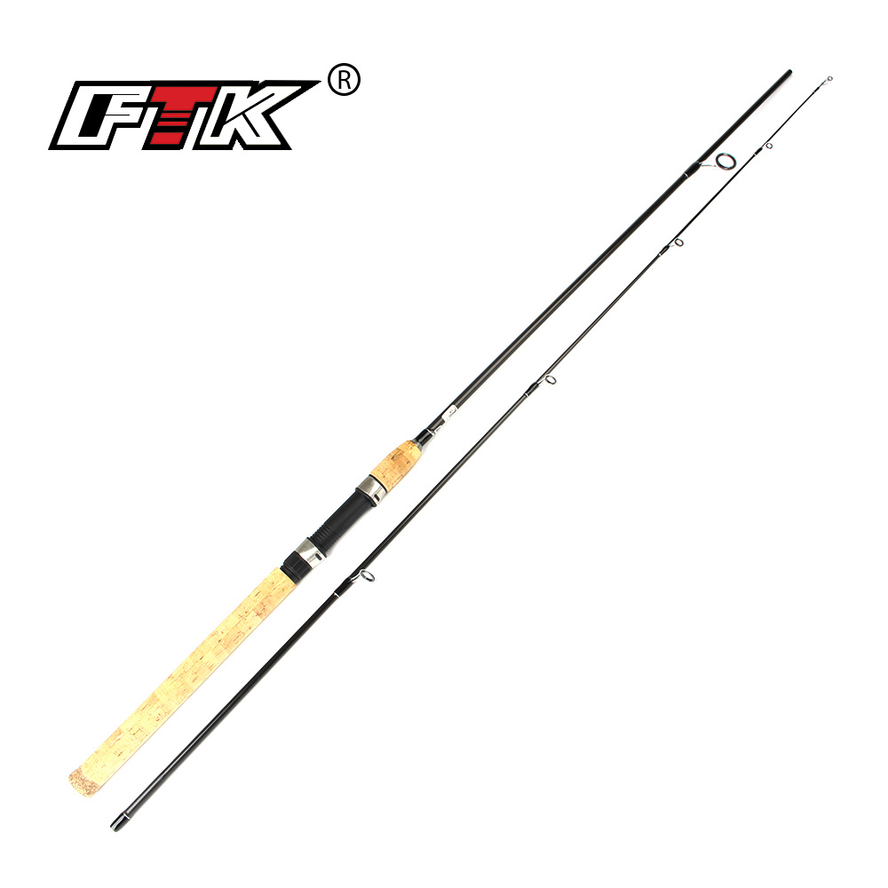 FTK Action Fly Fishing Rod Rod Carbon Fiber Fast With Superior Tight weave Blanks Fishing Rod