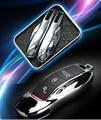 1 conjunto abs Para Porsche Cayenne Cayman panamera Macan 911 (sem chave do carro) chave do carro de Proteção shell Modificada chave controlador de cor