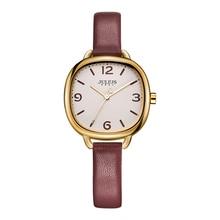Купить с кэшбэком JULIUS Love Bracelet Watches Women Dress Fashion Leather Montres Waterproof Square Ladies Watches Top Brand Luxury wacht JA-928