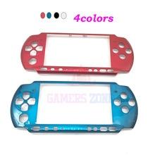 10 قطعة الجبهة غطاء حماية شل حالة غطاء Proctector استبدال لسوني PSP 3000