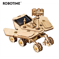 Robotime New Exotic Diy Fun Series Stray Solar Toy 3d Wooden Model Building Kit Toy Children Adult Gift