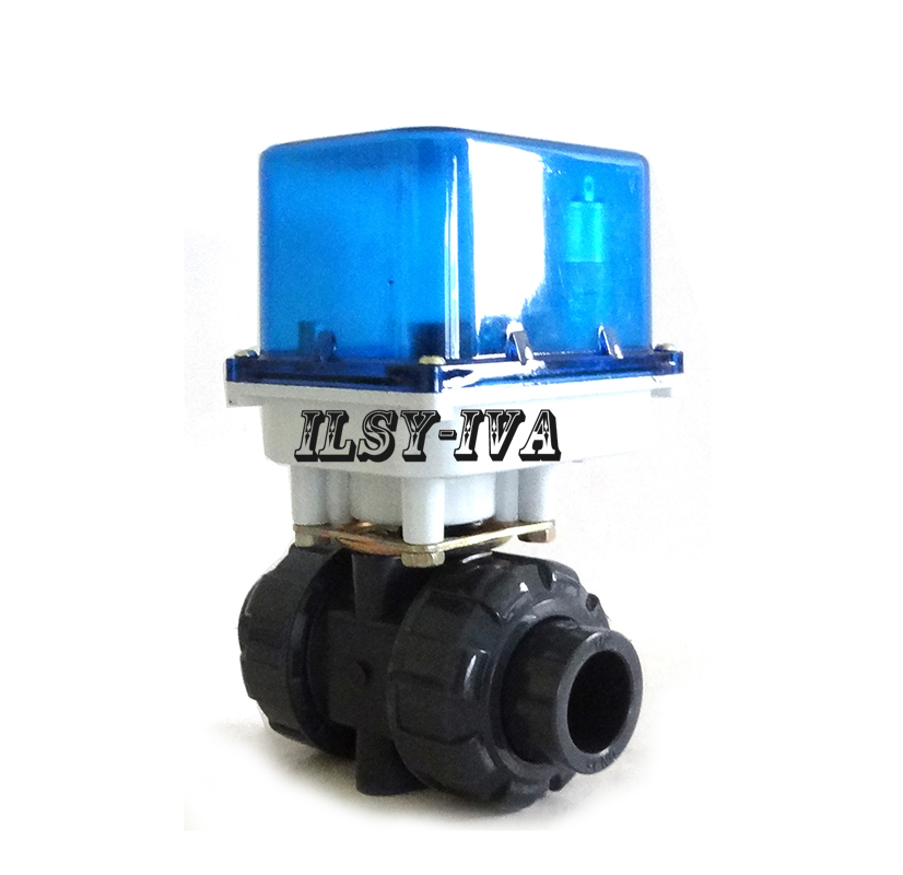 цены DN15~DN25 PVC fixed-type motorized valve,DC12V/24V electric ball valve with 3/4 wires control